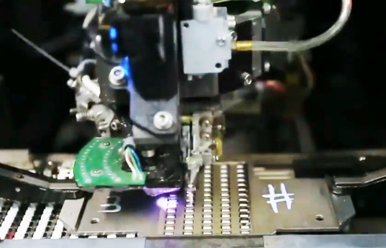 automatic chip surface mounting for neon flex