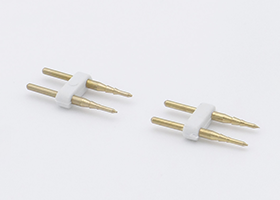 2 pins connector for 14x25mm led neon flex rope lights