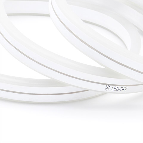 24V 10cm cuttable double sided view led neon flex strip 1
