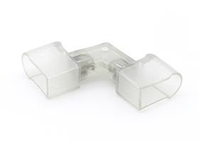 L shape connector for led neon flex contour line 14x25mm