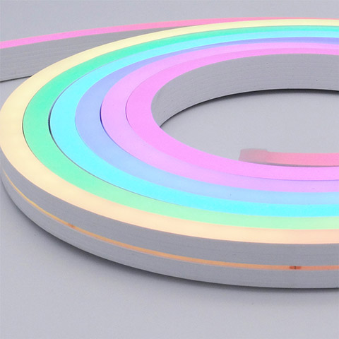 Silicone Neon Flex Pixel RGB color changing 12x20mm 96leds IP67 wateproof
