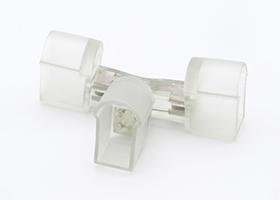 T shape connector for led neon flex contour line 14x25mm