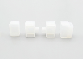 bottom right left outlet plug front caps for silicone neon flex linear 12x20mm