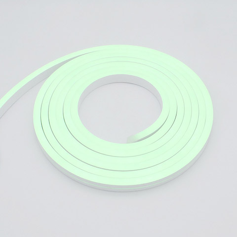 side bending 24V silicone neon flex linear 12x20mm RGB 96leds