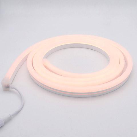 silicone neon flex mini RGB 9.5x22mm 12V 5cm cuttable