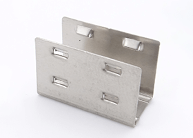 stainless steel mounting bracket of silicone neon flex 9.5x22mm and 12x25mm pixel RGB