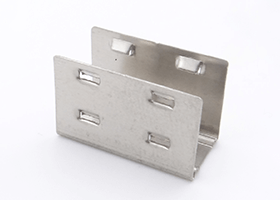 stainless steel mounting clips for silicone neon flex 15x15mm 12x20mm 1
