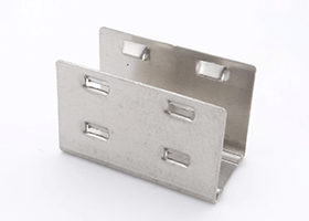 stainless steel mounting clips for silicone neon flex 15x15mm 12x20mm