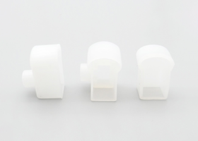 straight line and 90degree outlet plug front caps for silicone neon flex 9.5x22mm and 12x25mm pixel RGB