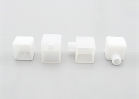 straight outlet and right left bottom outlet front cap for 15x15mm silicone neon flex linear pixel RGB