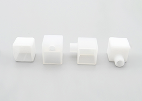 straight outlet and right left bottom outlet front cap for 15x15mm silicone neon flex linear