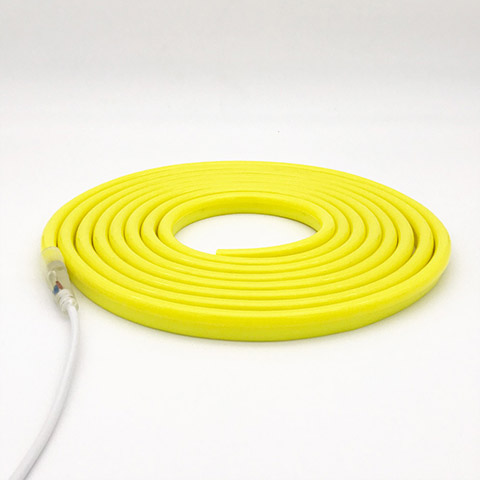 ultra bright yellow jacket yellow color led neon flex