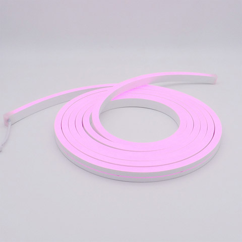 waterproof ip67 led silicone neon flex linear 12x20mm RGB purple color for swimming pool