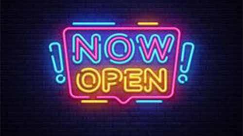 An Open Bar Sign