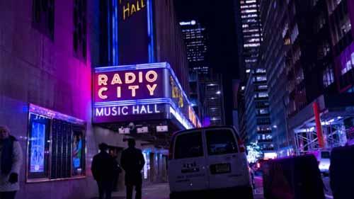Radio City Music Hall Neon Light