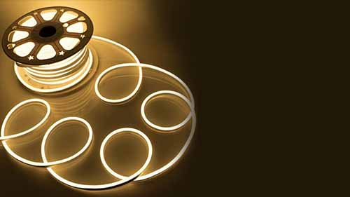 Warm White Dimmable Neon LED Strip Light