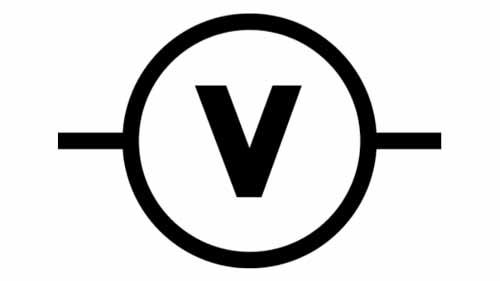 A voltage symbol
