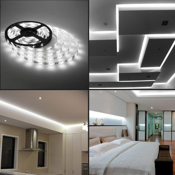 Bright LED Strips in Use