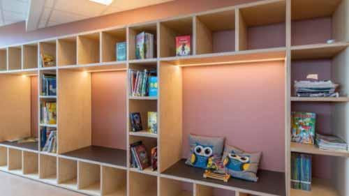 COB Led light under shelves