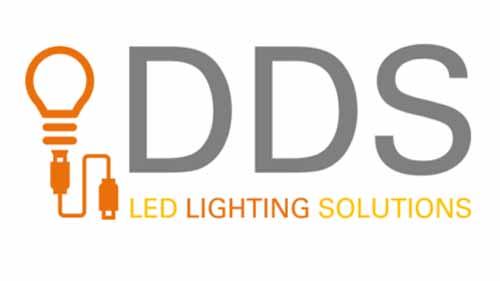 DDS Led lighting logo