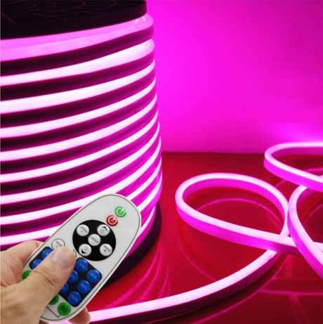 LED neon flex light controllers provide different lighting options