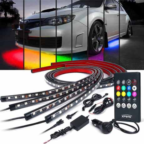 Xprite Car Underglow Light Strips