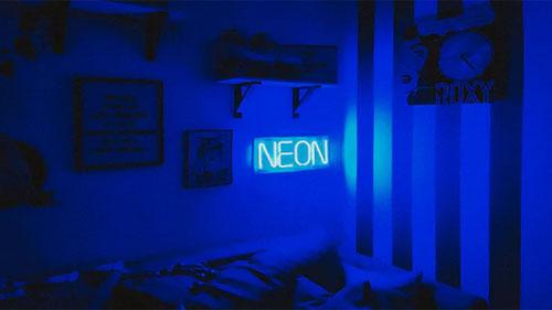 A custom LED Neon flex sign