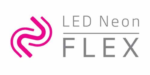 Led neon flex logo